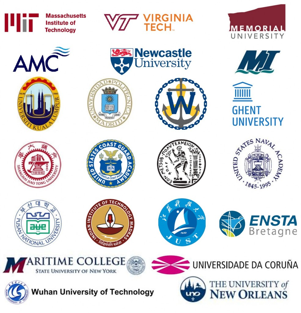 Notable academic institutions using HydroComp, Inc. software