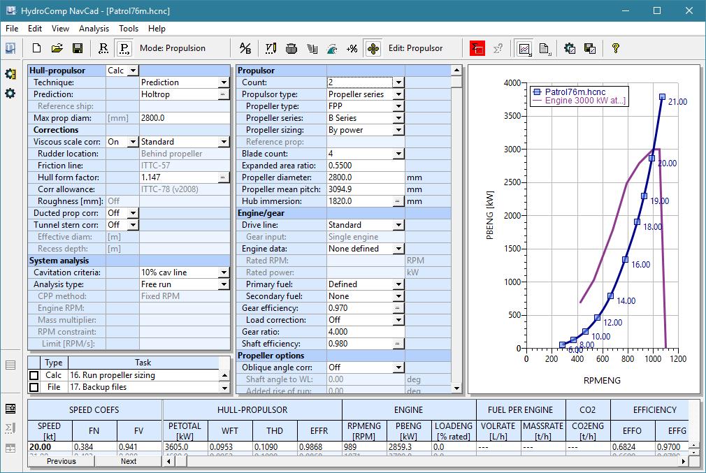 NavCad screen shot