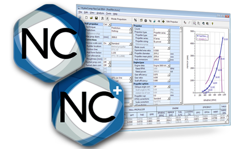 NavCad screenshot and logo